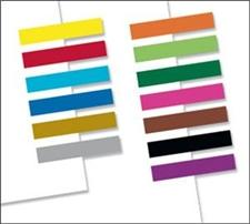 Redi-Tag Small Page Flags Solid Assorted Colors Bulk Pads