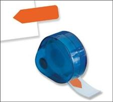 Redi-Tag Dispenser Solid Flag Orange