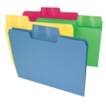 Smead Colored Top Tab SuperTab Oversized Tab File Folders