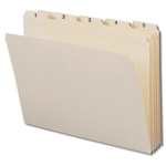 Smead Manila Top Tab Indexed File Folder Sets