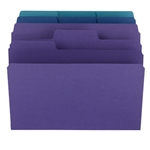 Smead Colored Top Tab Organizer File Folder