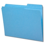 Smead Colored Top Tab File Folders with Reinforced Tab