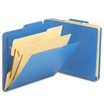 Smead Top Tab Poly Classification Folders