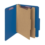 Smead Top Tab PressGuard Classification Folders With SafeSHIELD Fasteners