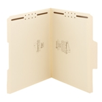 Smead Top Tab SuperTab Fastener Folders with Reinforced Tab