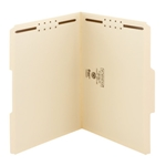 Smead Top Tab Fastener Folders with Reinforced Tab