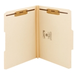 Smead Heavy Duty Top Tab Heavyweight Manila Fastener Folders