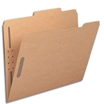 Smead Heavy Duty Top Tab Kraft Fastener Folders
