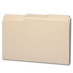 Smead Heavy Duty Top Tab Manila File Folders with Reinforced Tab