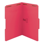 Smead Top Tab Colored Fastener Folders with Reinforced Tab