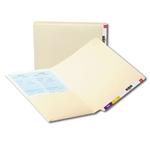 Smead End Tab Pocket Folders with Shelf-Master Reinforced Tab