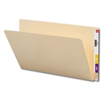 Smead Heavy Duty End Tab Folders with Extended Shelf-Master Reinforced Tab