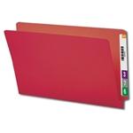 Smead End Tab Colored Folders with Shelf-Master Reinforced Tab