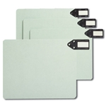 Smead End Tab Extra Wide Pressboard Filing Guides with Horizontal Metal Tabs