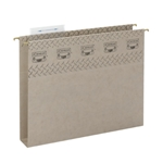 Extra Capacity TUFF Hanging Folders, Box Bottom with Easy Slide Tab