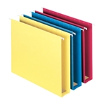 Extra Capacity Colored Hanging Folders, Box Bottom