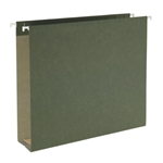 Extra Capacity 100% Recycled Hanging Folders, Box Bottom
