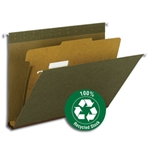 100% Recycled Hanging Classification Folders