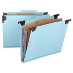 Hanging Classification Folders with SafeSHIELD Fasteners