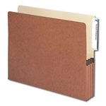 Smead End Tab Redrope File Pockets with Manila Liner