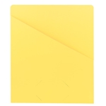 Smead 75434 Yellow Slash Jacket, Letter