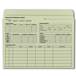 Smead Colored Top Tab Employee Record File Folder