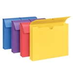 Smead Colored Expanding Wallets with Antimicrobial Product Protection