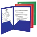 Campus.org Poly Two-Pocket Folder