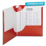 Campus.org Lockit Two-Pocket Folders