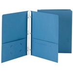 Two-Pocket Folders with Fasteners