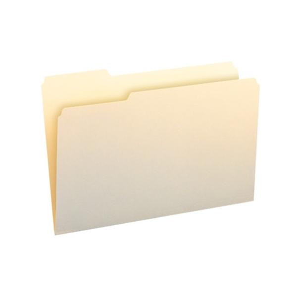 Smead 10331 manila folder 1 3 cut tab left position for Manila file folders letter 3 tab