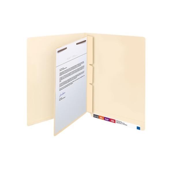 "Smead 68027 Manila Self-Adhesive Folder Dividers, 1"" Twin"