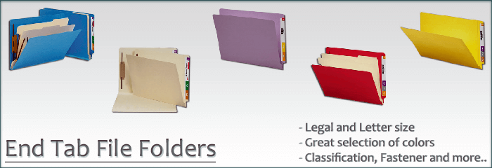 End Tab File Folders | Legal and Letter size | SHOP NOW!
