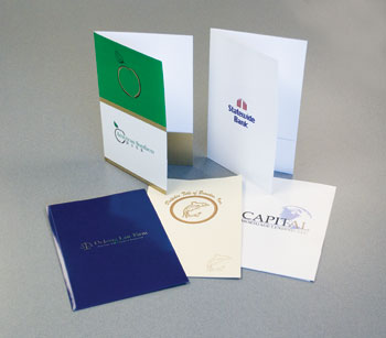 Custom Legal Presentation Folders