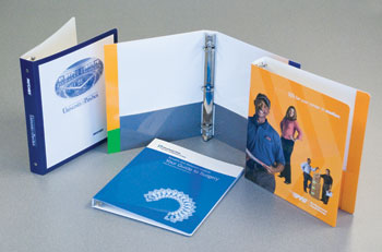 Custom Presentation Paperboard Binders