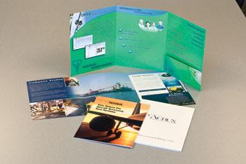 Custom Tri-Panel Presentation Folders