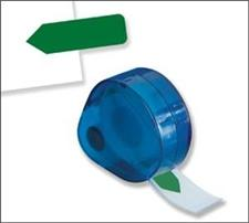 Redi-Tag Solid Flag Refill Rolls Dark Green