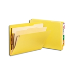 Smead End Tab, Classification File Folder, 2 Dividers, 2