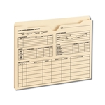 Smead Employee Record File Jacket, Reinforced Straight-Cut Tab, 1