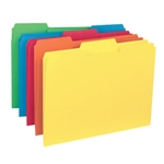 Smead 10229 Assorted Interior File Folder, 1/3-Cut Tab, Letter