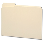 Smead 10335 Manila File Folder, Reinforced 1/3-Cut Tab Left Position, Letter