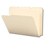 Smead 10510 Manila Poly File Folder, 1/3-Cut Tab, Letter