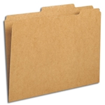 Smead 10776 Kraft File Folder, Reinforced 2/5-Cut Tab Right of Center, Guide Height, Letter