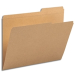 Smead 10786 Kraft File Folder, Reinforced 2/5-Cut Tab Right Position, Guide Height, Letter