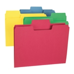 Smead 11987 Assorted SuperTab File Folder, Oversized 1/3-Cut Tab, Letter