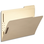 Smead 14538 Manila Fastener File Folder, 2 Fasteners, Reinforced 1/3-Cut Tab Right Position, Letter