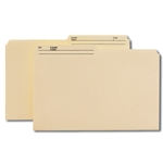 Smead 15138 Manila Reversible File Folder, 1/2-Cut Printed Tab, Legal
