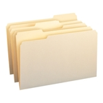 Smead 15330 Manila File Folder, 1/3-Cut Tab, Legal