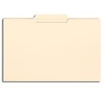 Smead 15336 Manila File Folder, Reinforced 1/3-Cut Tab Center Position, Legal