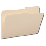 Smead 15385 Manila File Folder, 2/5-Cut Tab Right Position, Legal